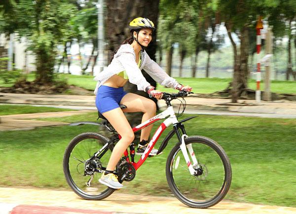 Đạp xe giúp kích thích sự tăng trưởng chiều cao tối ưu